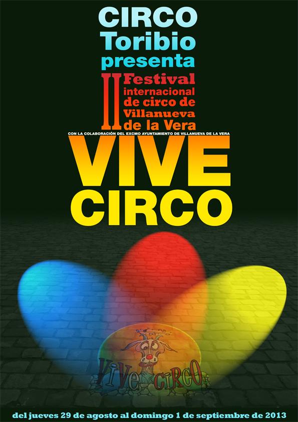 cartel de vive circo 2013